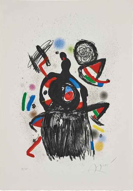 Joan Miró, 'La Jeteuse de sorts (The Spellcaster)', 1981, Phillips