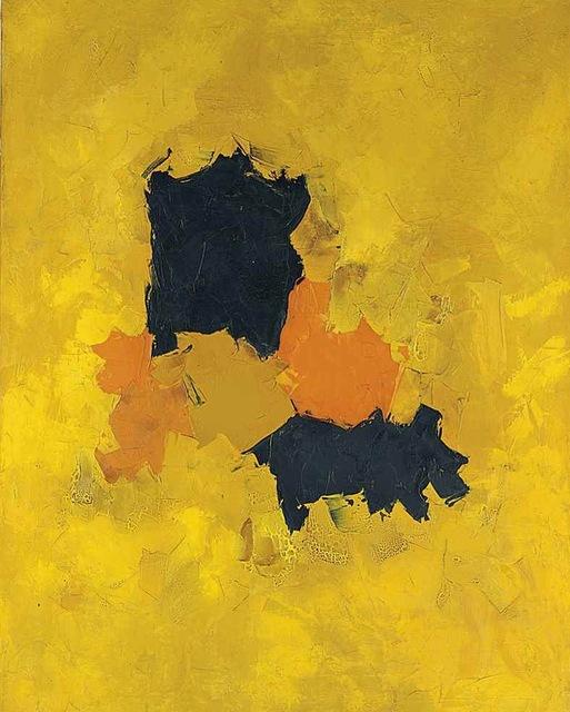 Olga Albizu, 'Untitled', ca. 1964, Painting, Oil on linen, Biaggi & Faure Fine Art
