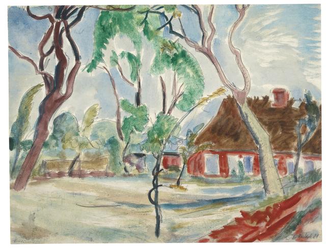 Erich Heckel, 'Obstbäume', 1921, Ludorff