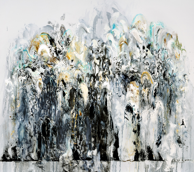 , 'Wall of water VII,' 2011, The National Gallery, London