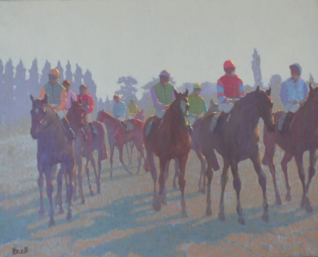 Peter Howell, 'Horses at Deauville', Late 20th Century, Cross Gate Gallery