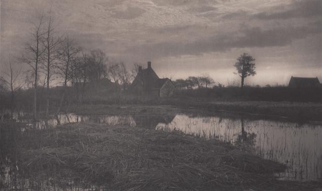 , 'Evening,' Neg. date: 1885 c. / Print date: 1885 c., Alan Klotz Gallery