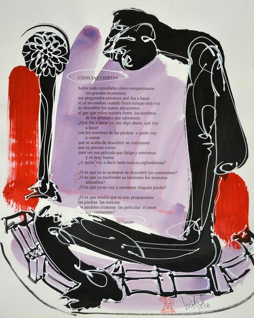 Luis Miguel Valdes, 'Recordaba (from series Random Poetry)', 2016, La Siempre Habana