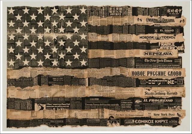 Massimo Vignelli, 'America the Melting Pot 1976', 1989, Alpha 137 Gallery Auction