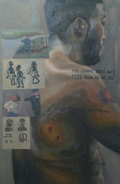 , 'Pain Insensitivity,' 2016, Zhou B Haus der Kunst