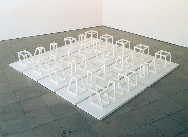 , 'Geometric Structures, Three Part Series,' 1979, Simon Lee Gallery