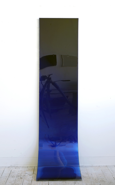 , '72 by 18 (deep blue fade),' 2009, SOCO GALLERY