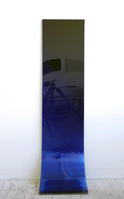 , '72 by 18 (deep blue fade),' 2009, SOCO GALLERY