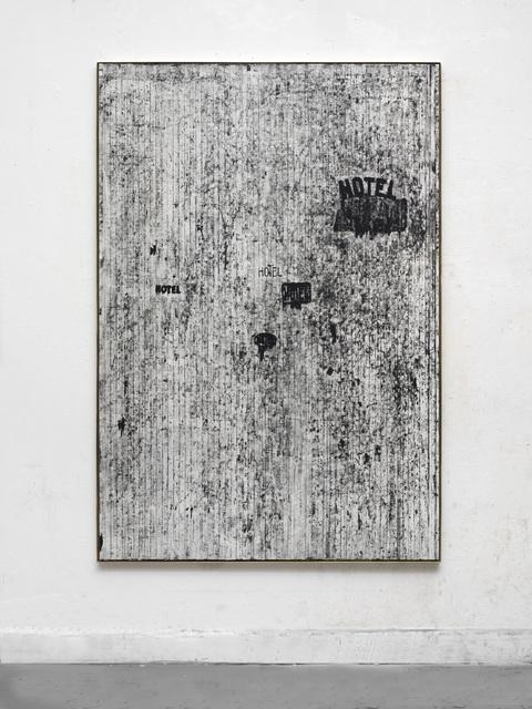 , 'stille Grüße aus Clichy,' 2017, Wentrup
