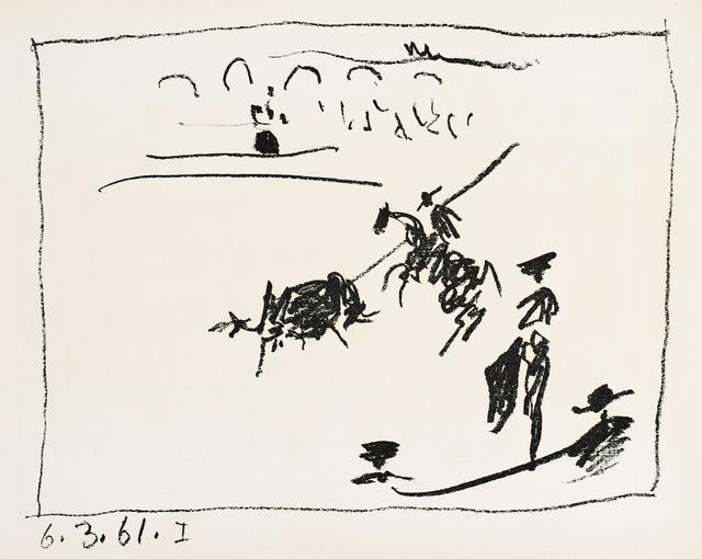 Pablo Picasso, 'LA PIQUE (The Pike)', 1961, Christopher-Clark Fine Art