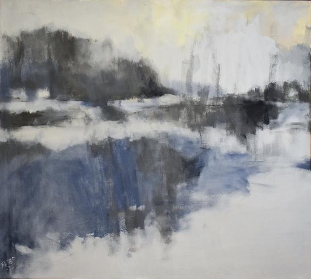 Nancy Rutter, 'Silver Marsh', 2018, Carrie Haddad Gallery