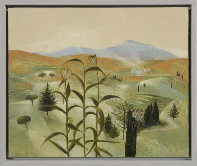 Tom Mabon, 'Evening in the Lunigiana Hills', 2020, Painting, Oil on linen on board, Jonathan Cooper