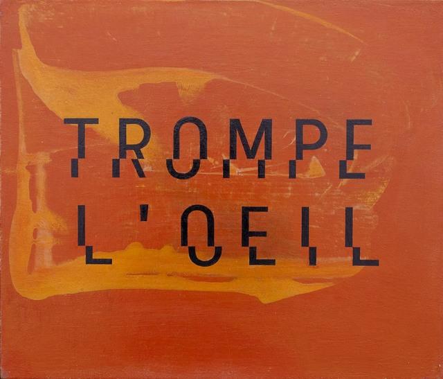 Enn Erisalu, 'Trompe L'Oeil', ca. 1990, Gallery Jones