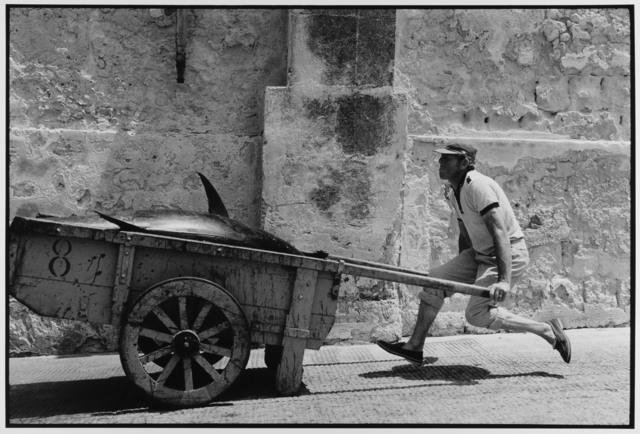 , 'Fish Monger levitates Trapani, Sicily ,' 1975, Gallery 270