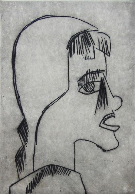 , ' Girl's Head I Mädchenkopf,' 1920, Gilden's Art Gallery