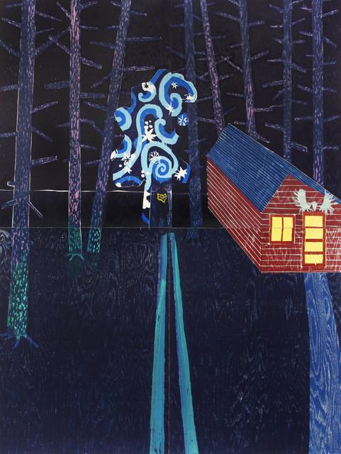 , 'Night Cabin,' 2014, Flowers