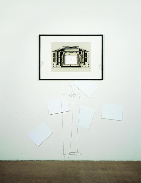 , 'Monologo,' 1996, Alfonso Artiaco