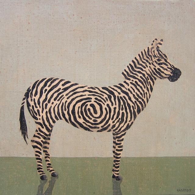 , 'Digital zebra,' , GALERIA JORDI BARNADAS