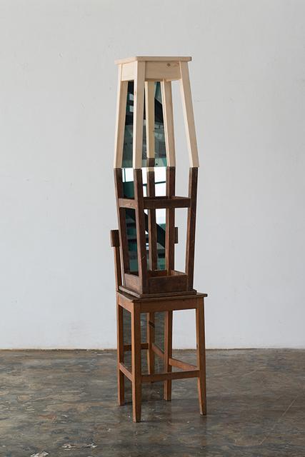 , 'Duas exculturas Bancos,' 2015, Galerie Bernard Bouche