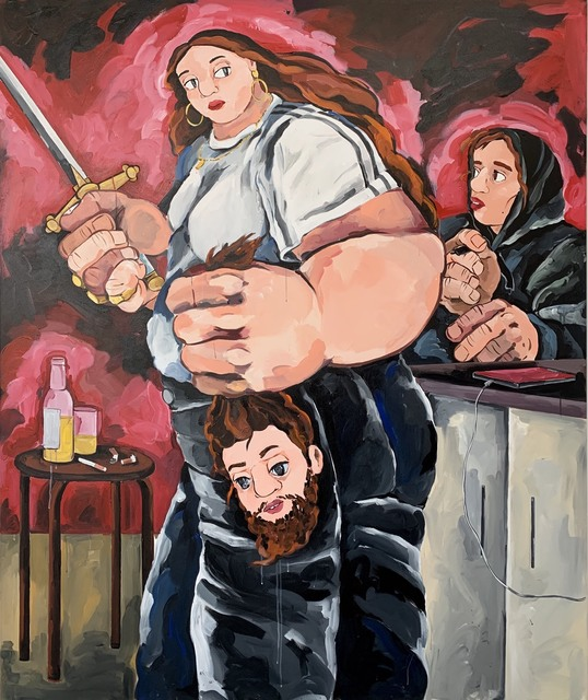 Cristina BanBan, 'I saw Judith and Holofernes in My Kitchen Last Night', 2019, 1969 Gallery