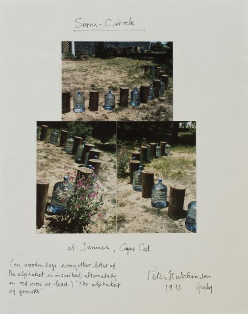 , 'Semi-circle,' 1996, Gaa Gallery