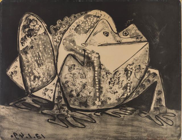Pablo Picasso, 'Le crapaud', 1949, Print, Lithograph, ed. 6/50, ArtRite