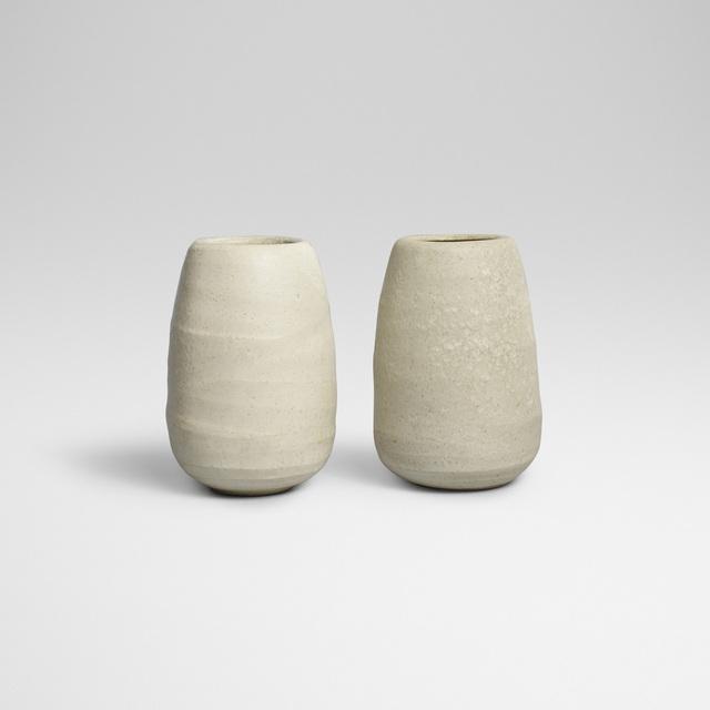 Aage and Kasper Wurtz, 'vases, pair', Wright