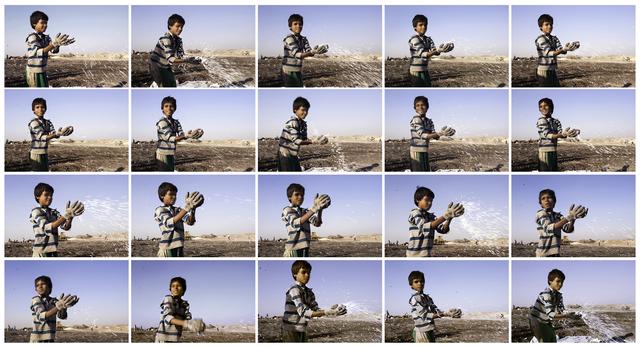 , 'Boy in Blue Striped Shirt,' 2017, Gallery Espace