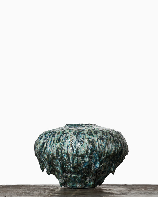 , 'Black and White Halfmoonjar #1859,' 2015, Jason Jacques Gallery