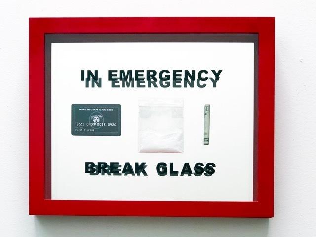 , 'In Emergency Break Glass,' 2019, Bruce Lurie Gallery
