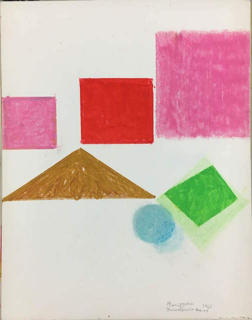 , 'Bay and Sky,' 1965/1974, Inman Gallery