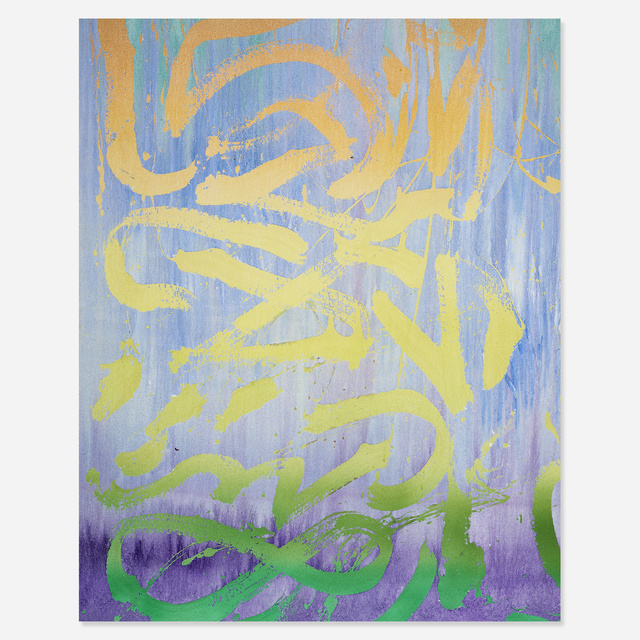 Ben Wolf Noam, 'Summer to Fall (Alexxa) 2, October 2013', 2013, Painting, Acrylic pigment dispersion and enamel on canvas, Rago/Wright