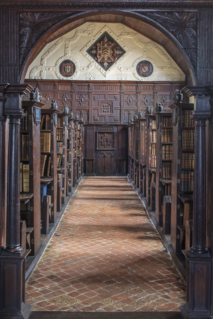 , 'Merton College Library, Oxford,' 2017, Undercurrent Projects