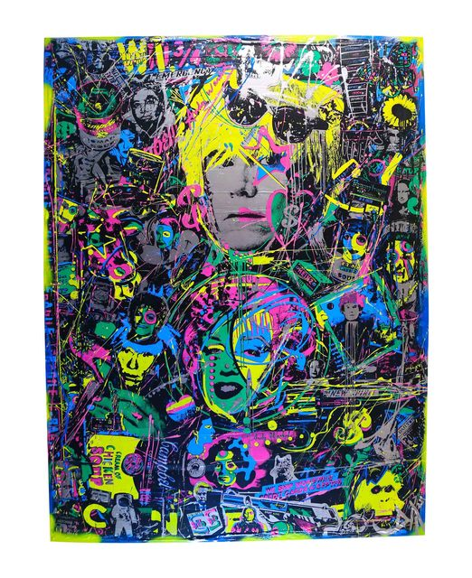 , 'Andy Warhol,' 2015, The McLoughlin Gallery