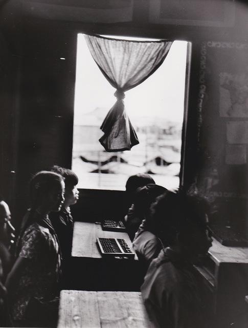 , 'Canton (Chine), école flottante,' 1957, Galerie Nathalie Obadia