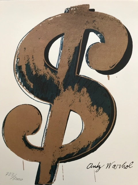Andy Warhol | Dollar Sign (ca  1980) | Available for Sale | Artsy
