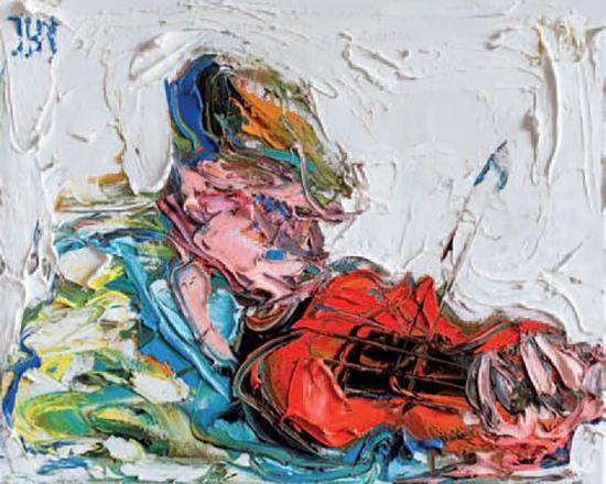 , 'The Mountain Fiddler,' 2018, SOL Art Gallery