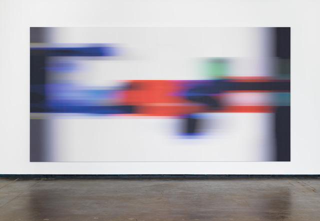 , 'Google Blur,' 2017, Maccarone