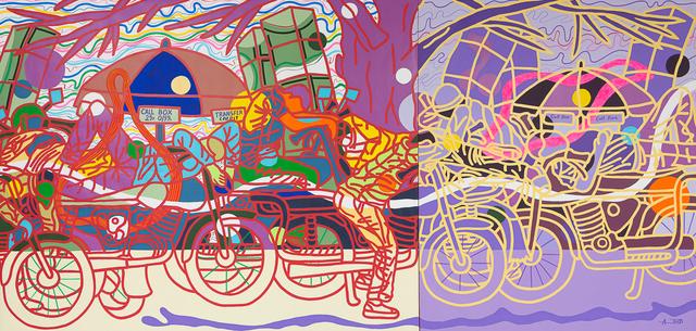 , 'Bike boys dem di nang,' 2017, Jack Bell Gallery