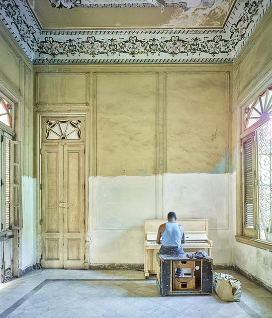 , 'Piano Player, Havana, Cuba,' 2014, Galerie de Bellefeuille