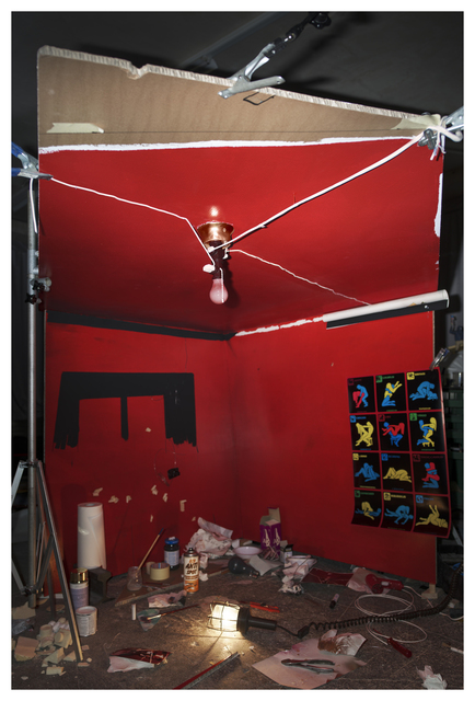 """, 'Making of """"The Red Ceiling"""" (By William Eggleston 1973),' 2016, Bryce Wolkowitz Gallery"""