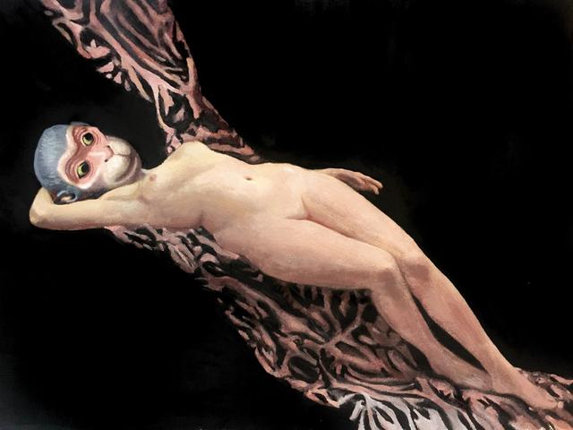 Tanja Hirschfeld, 'ApeWoman', 2018, GALERIE BENJAMIN ECK