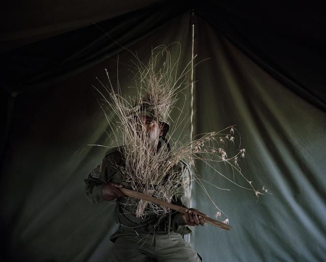 , 'Camouflage Warrior #II, Borana Ranch, Northern Kenya,' 2014, Francesca Maffeo Gallery