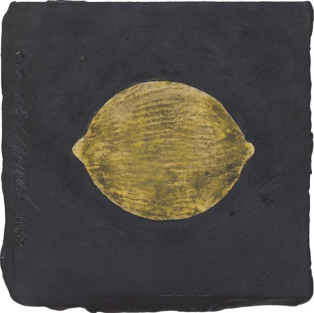 , 'Lemon, 19 January 1989,' 1989, Huxley-Parlour