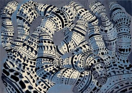 , 'Form Code (Blue),' 2006, Deweer Gallery