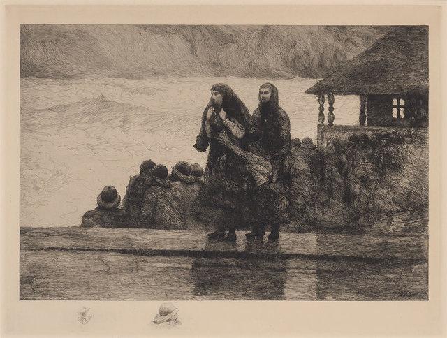 Winslow Homer, 'Perils Of The Sea (G. 99)', 1888, Doyle