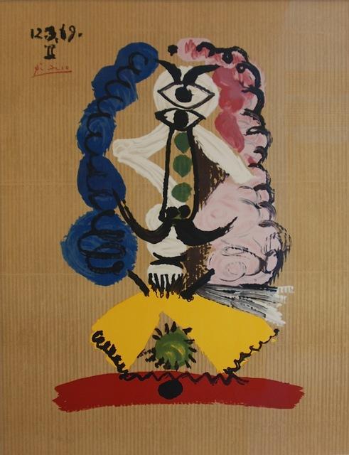 , 'Portraits imaginaires 12 3 69 II,' 1971, Bogena Galerie