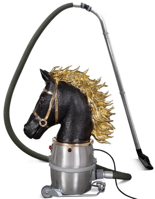 ", '""Horse Bust"" (Chess Piece),' 2014, Chamber"