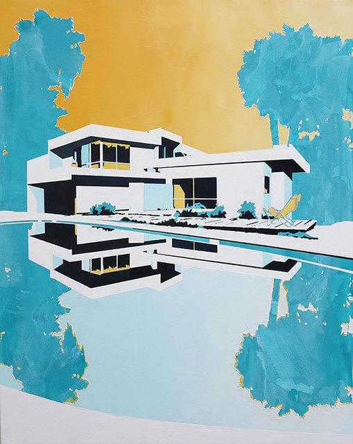 , 'House Sunset,' 2015, Olsen Irwin
