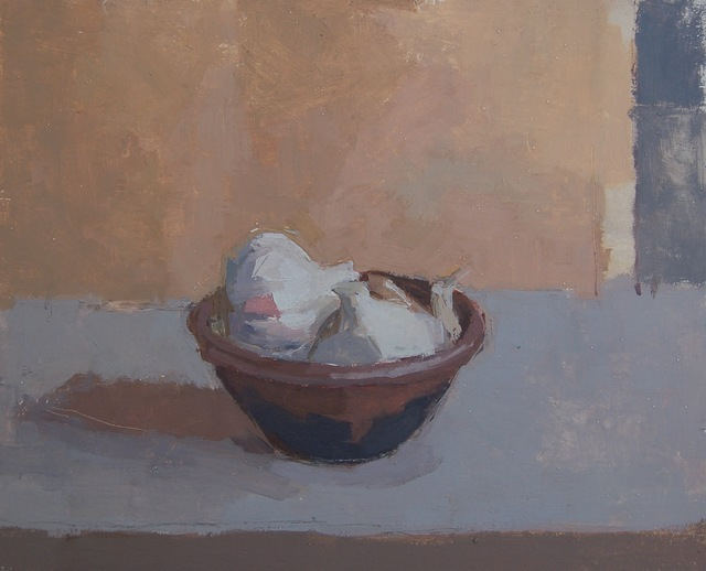 , 'Leach Bowl with Garlic,' 2017, Sarah Wiseman Gallery